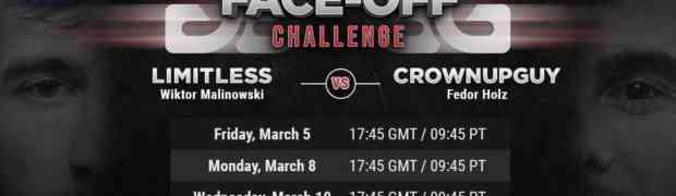 Holz vs. Malinowski: 4 Sessions mit $100/$200 ab 5. März