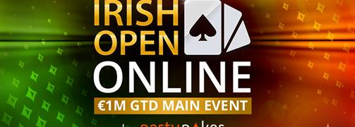 Irish Open Online 2021 Turnierplan bestätigt; ab 1 Cent zum Main Event