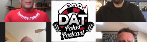 Phil Ivey im Interview zu Gunsten von die 100. Folge des DAT Poker Podcasts