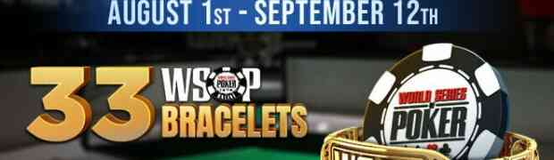 GGPoker gibt 33-Bracelet WSOP Online 2021 Turnierplan publiziert